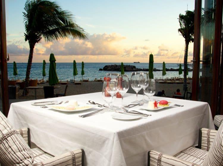 St Kitts Restaurants Carambola Beach