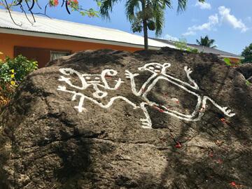 Carib Petroglyphs